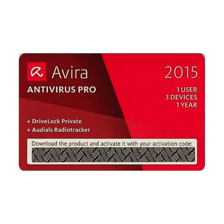 AVIRA PRO 2015 SPECIAL EDITION SCRATCH CARD